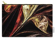 Gold Leaf Carry-all Pouch by Elizabeth McTaggart