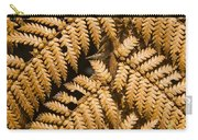 Gold Leaf Fern Carry-all Pouch