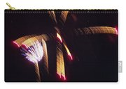 Gold Leafy Firework Carry-all Pouch