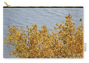 Gold Leaves Carry-all Pouch