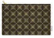Gold Metallic 17 Carry-all Pouch