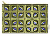 Gold Metallic 19 Carry-all Pouch