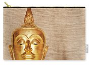 Gold Painted Buddha Statue Carry-all Pouch