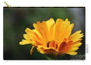 Gold Petals Carry-all Pouch