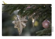Gold Star Christmas Tree Ornament 4 Of 4 Carry-all Pouch