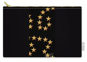 Gold Stars Abstract Triptych Part 3 Carry-all Pouch by Rose Santuci-Sofranko