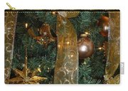 Gold Tones Tree Carry-all Pouch
