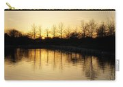 Golden And Peaceful - A Sunset On Lake Ontario In Toronto Canada Carry-all Pouch