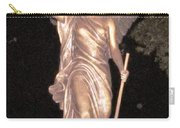 Golden Angel In The Night Carry-all Pouch
