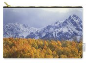 Golden Aspens With Mt. Sneffels Carry-all Pouch