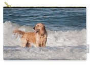Golden At The Beach Oil Carry-all Pouch