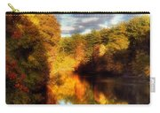 Golden Autumn Carry-all Pouch by Joann Vitali