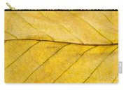 Golden Beech Leaf Carry-all Pouch