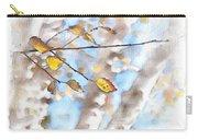 Golden Birch Carry-all Pouch
