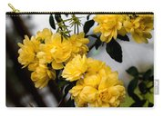 Golden Blooms One Carry-all Pouch