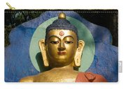 Golden Buddha Carry-all Pouch by Nila Newsom