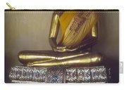 Golden Buddha On Pedestal Carry-all Pouch