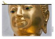 Golden Buddha Statue Carry-all Pouch by Antony McAulay