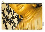 Golden Buddha Statue Carry-all Pouch