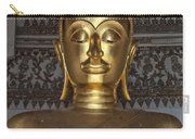 Golden Buddha Temple Statue Carry-all Pouch by Antony McAulay