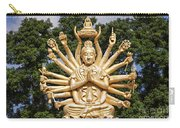 Golden Buddha With Many Arms Carry-all Pouch
