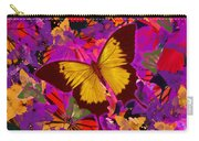 Golden Butterfly Painting Carry-all Pouch