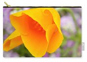 Golden California Poppy Carry-all Pouch