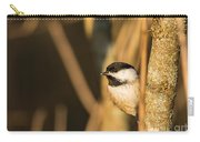 Golden Chickadee Carry-all Pouch