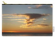 Golden Clouds And Blue Sky Carry-all Pouch