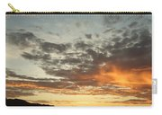 Golden Clouds At Grand Anse Carry-all Pouch