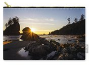 Golden Coastal Sunset Light Carry-all Pouch