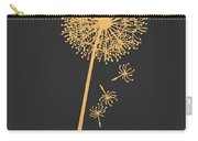 Golden Dandelion Carry-all Pouch