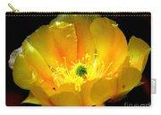 Golden Desert Flower Carry-all Pouch