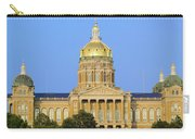 Golden Dome Of Iowa State Capital Carry-all Pouch