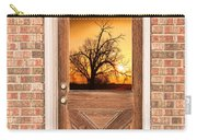 Golden Doorway Window View Carry-all Pouch