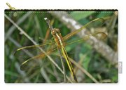 Golden Dragonfly At Rest Carry-all Pouch
