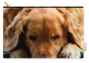 Golden Dreams Carry-all Pouch by Karen Wiles