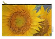 Golden Duo - Sunflowers Carry-all Pouch