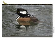 Hooded Merganser Reflections Carry-all Pouch