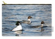 Golden-eyed Ducks Carry-all Pouch