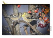 Golden Finch Cold Shoulder Carry-all Pouch