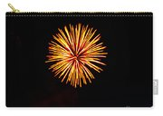 Golden Fireworks Flower Carry-all Pouch