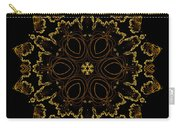 Golden Flower Of The Night Carry-all Pouch