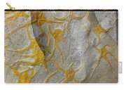 Golden Fossil Female Form Carry-all Pouch