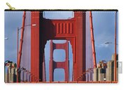 Golden Gate Bridge Carry-all Pouch by Adam Romanowicz