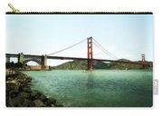 Golden Gate Bridge 2.0 Carry-all Pouch by Michelle Calkins
