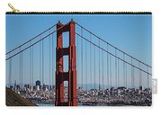 Golden Gate Bridge And San Francisco Carry-all Pouch