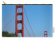 Golden Gate Bridge In Spring Carry-all Pouch