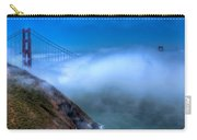 Golden Gate Bridge In The Fog Carry-all Pouch