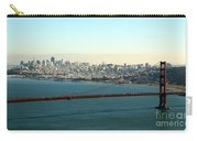 Golden Gate Bridge Carry-all Pouch by Linda Woods